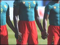 Cameroon's Tunisia 2004 kit