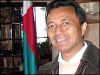 Madagascar's President Marc Ravalomanana