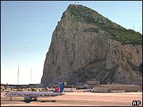 Gibraltar skyline