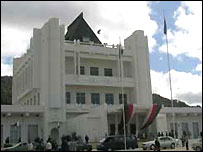 Madagascar's presidential palace