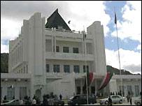 Madagascar's presidential palace