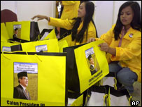 Golkar party nomination meeting