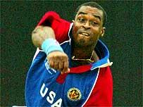USA seam bowler Tony Reid