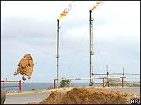 Zawia oil refinery, Libya