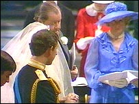 Wedding of Prince Charles and Lady Diana Spencer