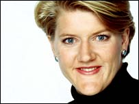 BBC Paralympic presenter Clare Balding
