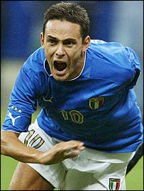 Italy's Filippo Inzaghi