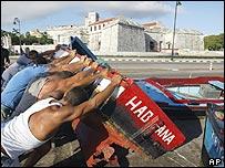 Preparations in Havana