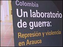 Afiche de la campaña de Amnistía Internacional.