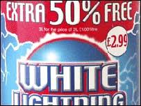White Lightning - Scottish and Newcastle