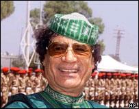 Colonel Gadaffi