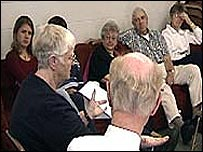 Discussions at the First Congregational Church in Colorado Springs