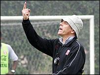Peru coach Paulo Autori