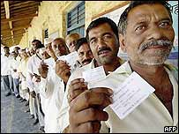 Voters in first phase of elections