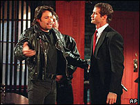 Days of Our Lives stars rehearse in 1997