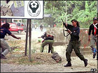 East Timor violence in 1999