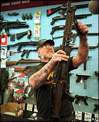 Gunshop owner, Colorado Springs
