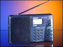 DRM radio set
