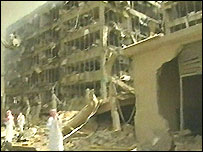 Blast site in Riyadh