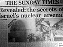 La historia de Vanunu en el Sunday Times.