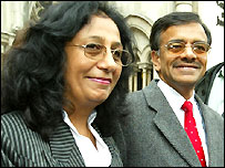 Chitralekha Mehta (left) and brother Yogesh Pathak