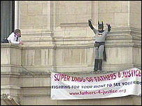 Fathers 4 Justice campaigner