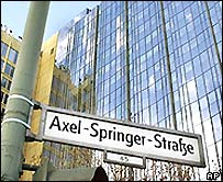 Axel Springer headquarters in Berlin