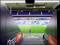The tunnel at White Hart Lane