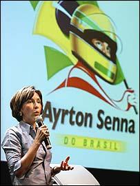 Ayrton Senna's sister Viviane