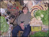 Market in northern Nicosia