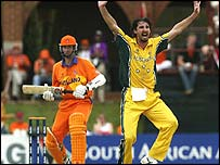 Australia thrashed minnows Holland at the last World Cup