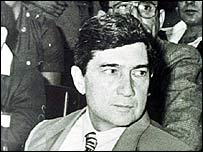 Cuban plotter Luis Posada Carriles in 1985 - his pardon by Panama infuriated Cuba