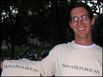 Ban a Republican t-shirt