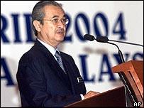 Malaysia's Prime Minister Abdullah Badawi