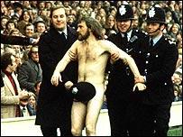 Michael O'Brien at Twickenham in 1974