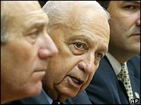 Israeli leader Ariel Sharon