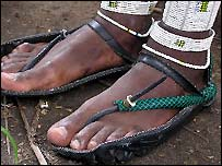 Tyre shoes