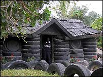 Tyre house