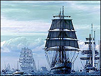 Generic tall ships