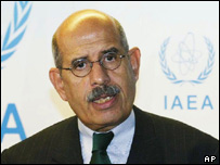 IAEA chief Mohamed El-Baradei