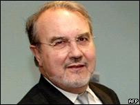 Spanish Economy Minister Pedro Solbes