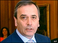 Spanish Interior Minister Jose Antonio Alonso