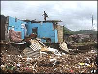 Jamaica Hurricane Ivan damage