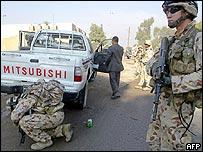 Australian soldiers in Iraq