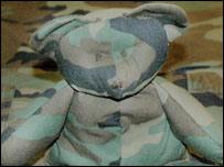 An RAF Lakenheath teddy bear