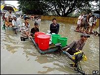 Floods in Dhaka