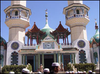 Mosque with Chinese influence