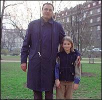 Roman y su hija Liberta