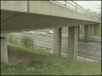 The A14 bridge
