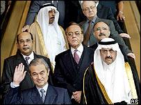 Muslim leaders at the Kuala Lumpur conference